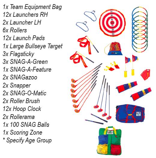 12 Player Little League Bag