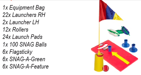 Tournament Six Hole League Play Kit